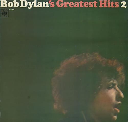 Bob Dylan Greatest Hits - Vol. II vinyl LP album (LP record) Dutch DYLLPGR293918