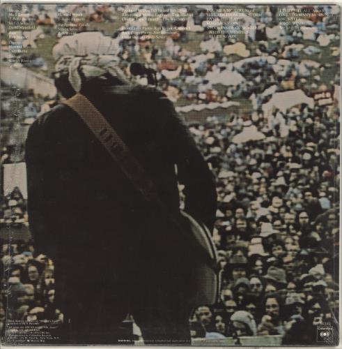 Bob Dylan Hard Rain vinyl LP album (LP record) US DYLLPHA714410