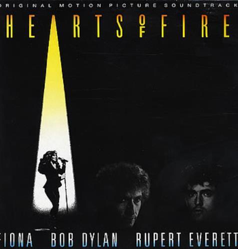 Bob Dylan Hearts Of Fire - Soundtrack vinyl LP album (LP record) UK DYLLPHE132245