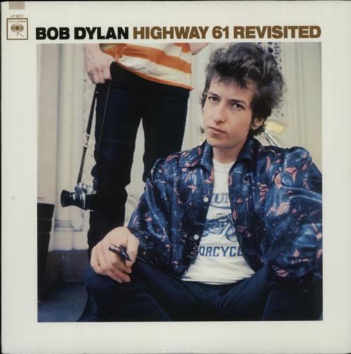 Bob Dylan Highway 61 Revisited - 180gm vinyl LP album (LP record) US DYLLPHI609764