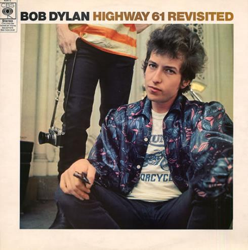 Bob Dylan Highway 61 Revisited - graduated orange vinyl LP album (LP record) UK DYLLPHI342248