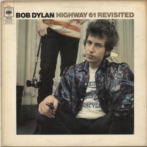 Bob Dylan Highway 61 Revisited - plain orange - EX vinyl LP album (LP record) UK DYLLPHI342534