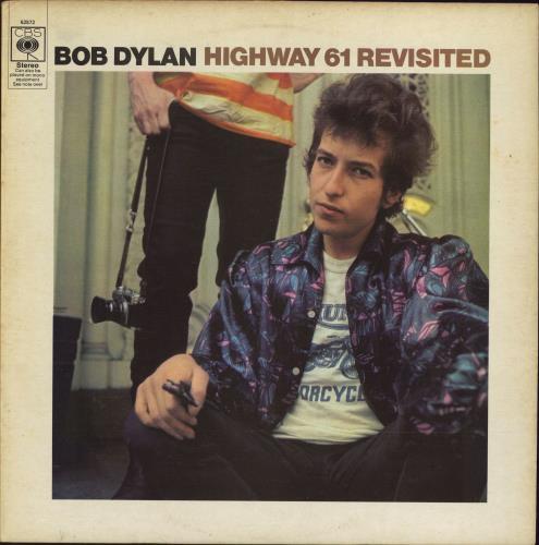 Bob Dylan Highway 61 Revisited - VG vinyl LP album (LP record) UK DYLLPHI774513