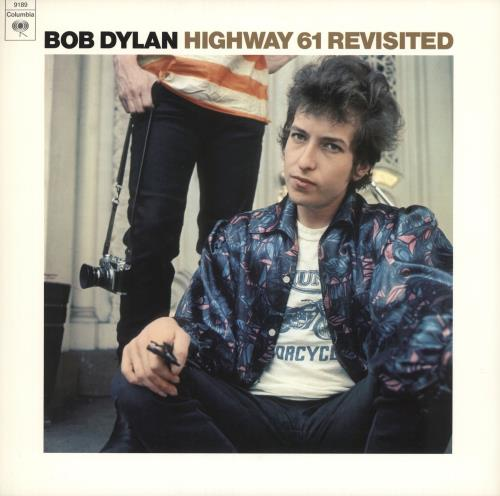Bob Dylan Highway 61 Revisited vinyl LP album (LP record) US DYLLPHI741886