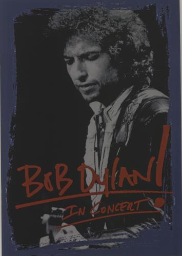 Bob Dylan In Concert! tour programme UK DYLTRIN684298