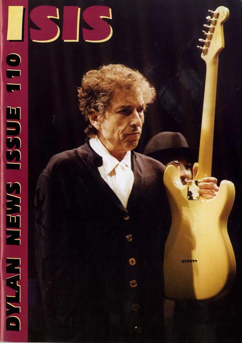 Bob Dylan Isis #110 fanzine UK DYLFAIS559612