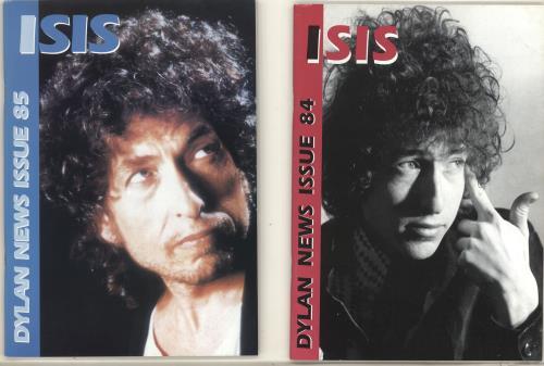 Bob Dylan Isis #80-89 fanzine UK DYLFAIS696036