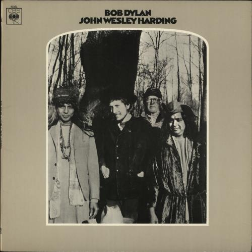 Bob Dylan John Wesley Harding - 1st - EX vinyl LP album (LP record) UK DYLLPJO570597