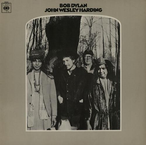 Bob Dylan John Wesley Harding - 1st vinyl LP album (LP record) UK DYLLPJO294353