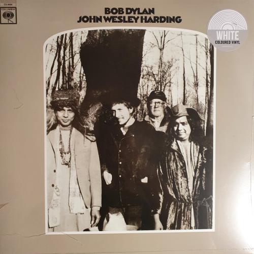 Bob Dylan John Wesley Harding - White Vinyl - Sealed vinyl LP album (LP record) UK DYLLPJO761920