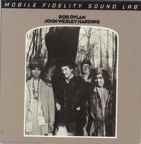 Bob Dylan John Wesley Harding super audio CD SACD US DYLSAJO693181