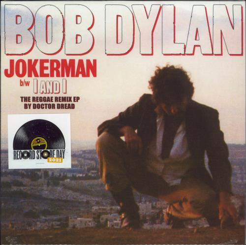"Bob Dylan Jokerman - The Reggae Remix EP - RSD 2021 - Sealed 12"" vinyl single (12 inch record / Maxi-single) UK DYL12JO771907"
