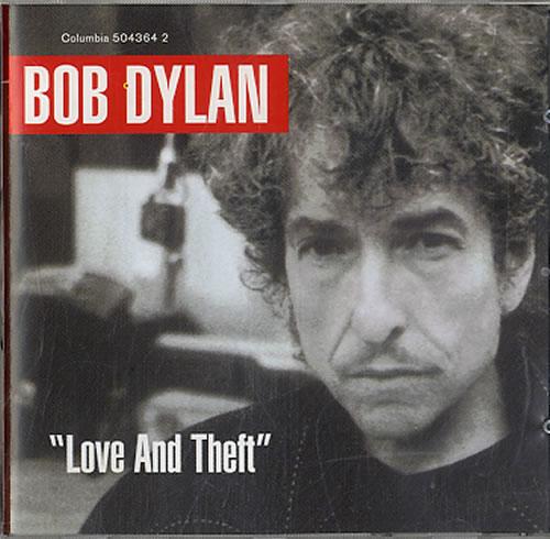 Bob Dylan Love And Theft CD album (CDLP) UK DYLCDLO619355
