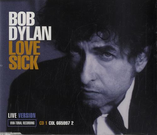 "Bob Dylan Love Sick - CD 1 CD single (CD5 / 5"") Austrian DYLC5LO115256"