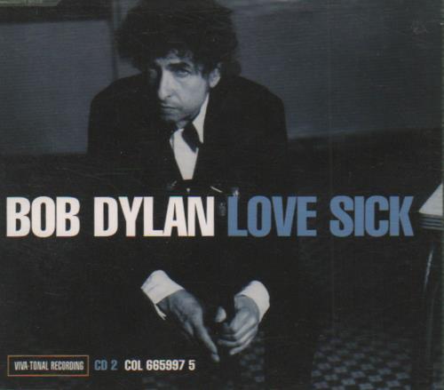 Bob Dylan Love Sick - Parts 1 & 2 2-CD single set (Double CD single) Austrian DYL2SLO255837