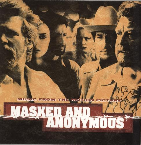 Bob Dylan Masked And Anonymous 2-LP vinyl record set (Double Album) US DYL2LMA767337