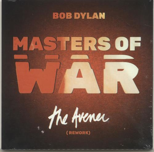 "Bob Dylan Masters Of War (The Avener Rework) - RSD18 - Sealed 7"" vinyl single (7 inch record) UK DYL07MA694978"