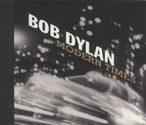 Bob Dylan Modern Times 2-disc CD/DVD set UK DYL2DMO368935