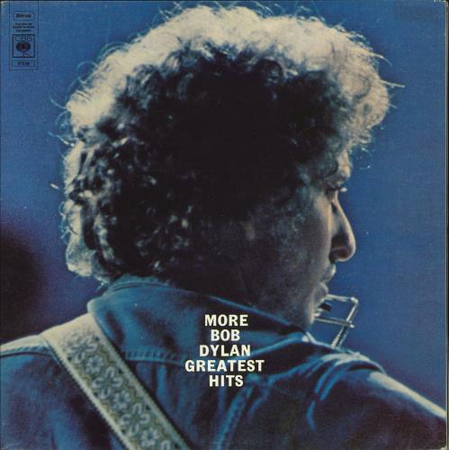 Bob Dylan More Bob Dylan Greatest Hits - 2nd 2-LP vinyl record set (Double Album) UK DYL2LMO299477