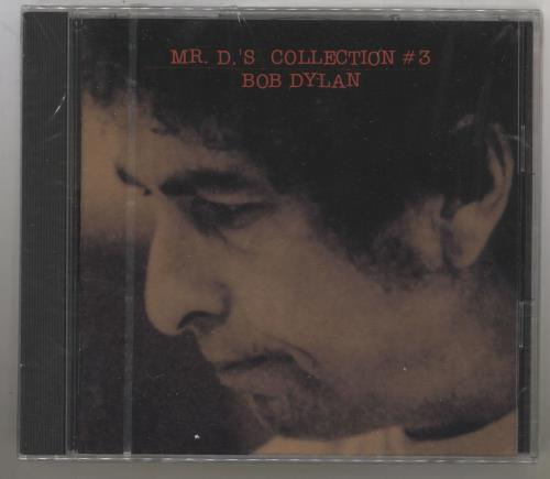 Bob Dylan Mr D's Collection #3 CD album (CDLP) Japanese DYLCDMR120010
