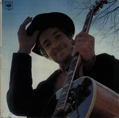 Bob Dylan Nashville Skyline - Stereo - Quality vinyl LP album (LP record) UK DYLLPNA579796
