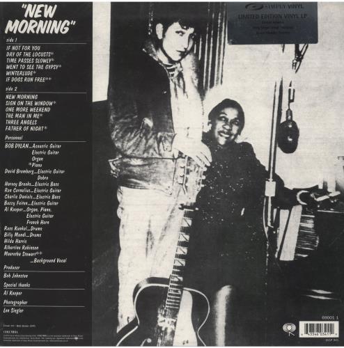 Bob Dylan New Morning - 180gm vinyl LP album (LP record) UK DYLLPNE222645