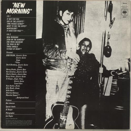 Bob Dylan New Morning - EX vinyl LP album (LP record) UK DYLLPNE512653
