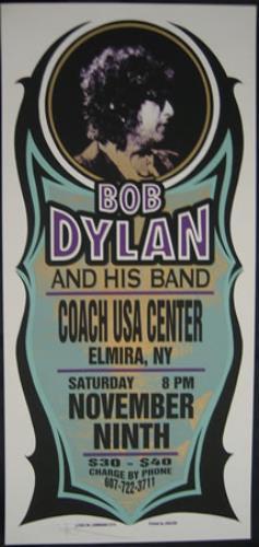 Bob Dylan New York Concert Poster poster US DYLPONE373510
