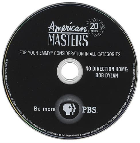 Bob Dylan No Direction Home 2-disc CD/DVD set US DYL2DNO367409