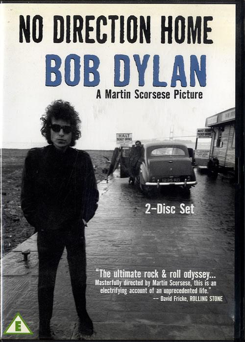 Bob Dylan No Direction Home DVD UK DYLDDNO559455