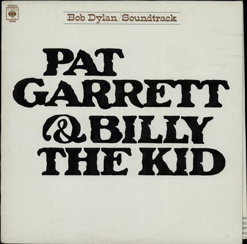 Bob Dylan Pat Garrett & Billy The Kid vinyl LP album (LP record) UK DYLLPPA591653