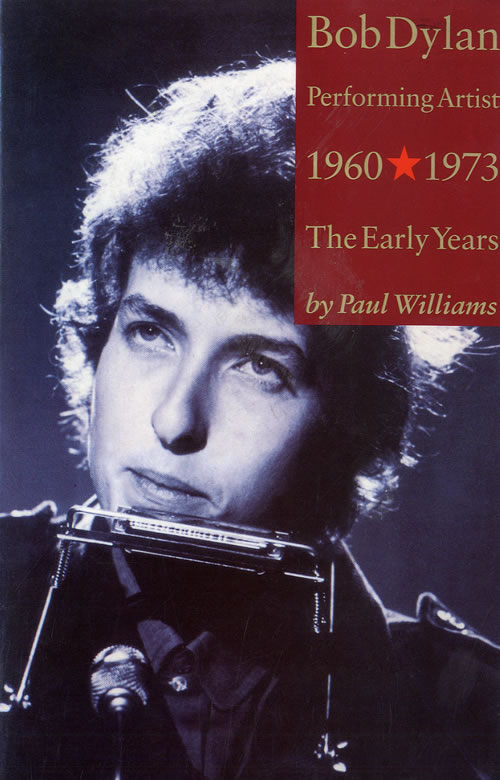 Bob Dylan Performing Artist - The Early Years book UK DYLBKPE559405