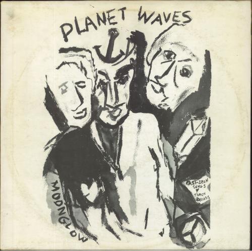 Bob Dylan Planet Waves vinyl LP album (LP record) UK DYLLPPL734891