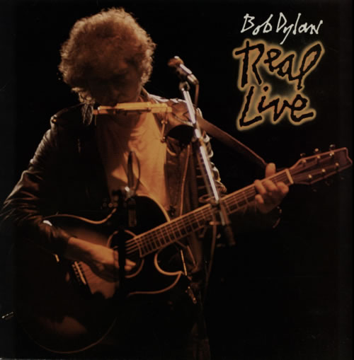Bob Dylan Real Live vinyl LP album (LP record) UK DYLLPRE133114