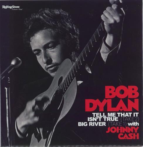 "Bob Dylan Rolling Stone + Exclusive 7"" Single magazine German DYLMARO775345"