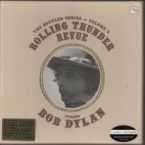 Bob Dylan Rolling Thunder Revue [The Bootleg Series Volume 5] 3-LP vinyl record set (Triple Album) US DYL3LRO767279