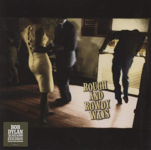 Bob Dylan Rough And Rowdy Ways - Olive Green Vinyl 2-LP vinyl record set (Double Album) UK DYL2LRO749018