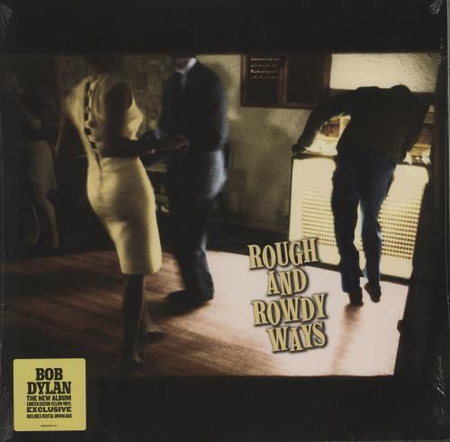 Bob Dylan Rough And Rowdy Ways - Yellow Vinyl - Sealed 2-LP vinyl record set (Double Album) German DYL2LRO756987