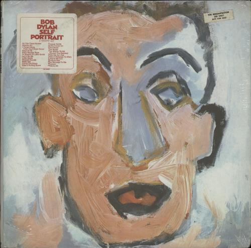 Bob Dylan Self Portrait - Sealed + Stickered 2-LP vinyl record set (Double Album) US DYL2LSE380422