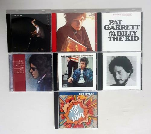 Bob Dylan Seven CD Albums CD album (CDLP) UK DYLCDSE761204