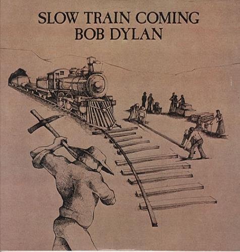 Bob Dylan Slow Train Coming vinyl LP album (LP record) Portugese DYLLPSL339722