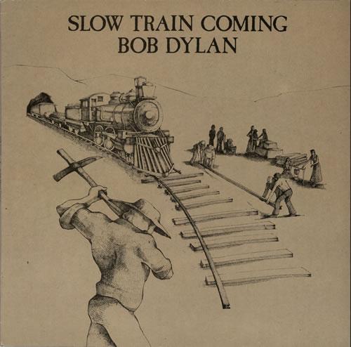 Bob Dylan Slow Train Coming vinyl LP album (LP record) UK DYLLPSL625913