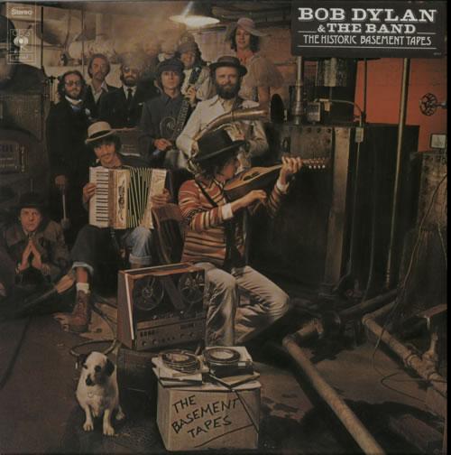 Bob Dylan The Basement Tapes - 1st - stickered 2-LP vinyl record set (Double Album) Dutch DYL2LTH463451