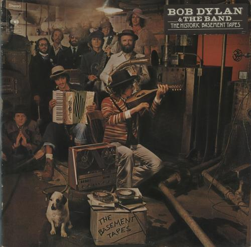 Bob Dylan The Basement Tapes - 1st - Stickered 2-LP vinyl record set (Double Album) UK DYL2LTH656493