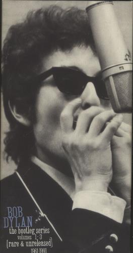 Bob Dylan The Bootleg Series Volumes 1 - 3 [Rare & Unreleased] 1961-1991 CD Album Box Set US DYLDXTH719726