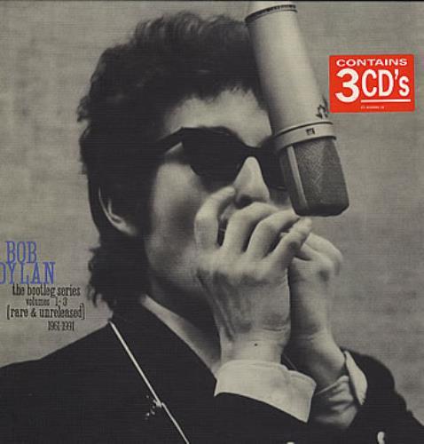Bob Dylan The Bootleg Series Volumes 1-3 - Sealed CD Album Box Set UK DYLDXTH285395