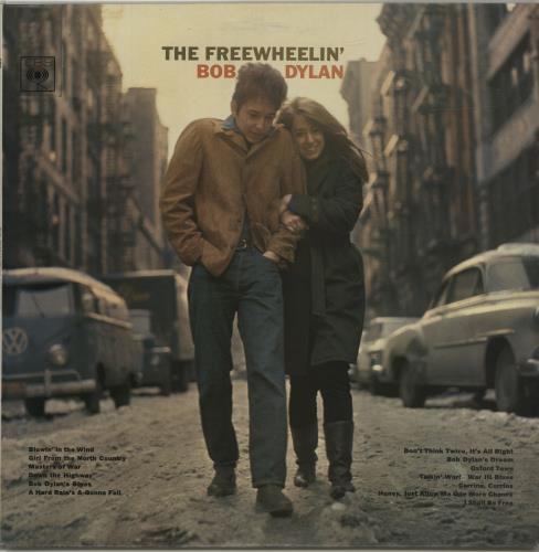 Bob Dylan The Freewheelin' Bob Dylan - Early 70s vinyl LP album (LP record) UK DYLLPTH687443