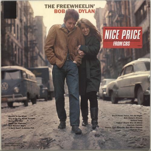 Bob Dylan The Freewheelin' Bob Dylan - Nice Price Stickered