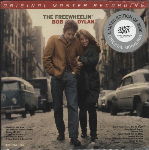Bob Dylan The Freewheelin' Bob Dylan - Original Mono - Sealed super audio CD SACD US DYLSATH737535