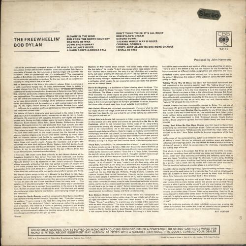 Bob Dylan The Freewheelin' Bob Dylan - Stereo - Smooth vinyl LP album (LP record) UK DYLLPTH65588